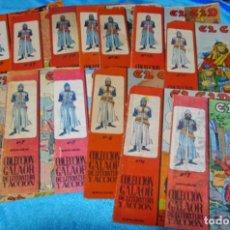 Tebeos: EL CID - LOTE DE 14 TEBEOS ORIGINALES GALAOR 1966 - VER Y LEER DESCRIPCION. Lote 194964710