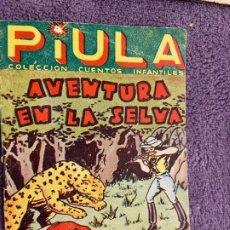 Tebeos: PIULA Nº 3 BUEN ESTADO. Lote 194979008