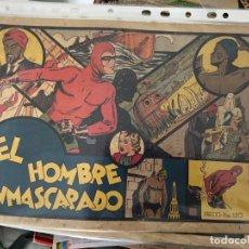 Tebeos: HOMBRE ENMASCARADO LOTE DE 27 TEBEOS DEL 1 AL 26 TODOS Y EL Nº 102 SE VENDEN SUELTOS. Lote 195014300
