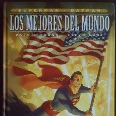 Tebeos: SUPERMAN - BATMAN: LOS MEJORES DEL MUNDO - DAVE GIBBONS Y STEVE RUDE - ECC - VER FOTOS Y DESCRIPCIÓN. Lote 195071045