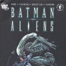 Tebeos: BATMAN CONTRA ALIENS - PLANETA DEAGOSTINI - VER FOTOS Y DESCRIPCIÓN. Lote 195134052