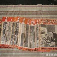 Tebeos: ROBERTSON, EL AS DE LOS DETECTIVES 2 AL 42, VECCHI, BUEN ESTADO. COLECCIÓN A.T.. Lote 195162803