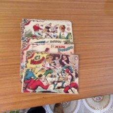 Tebeos: EL CORSARIO AUDAZ LOTE DE 7 NUMEROS EDITA RICART . Lote 195185418