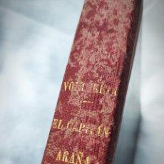Tebeos: VOLTERETA EL MUCHACHO DE GOMA + CAPITAN ARAÑA - COLECCIONES COMPLETAS 15+24 Nº EN 1 TOMO - ÚNICO. Lote 195232345