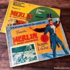 Tebeos: MERLÍN EL MAGO MODERNO ALBUM DE LUJO.. Lote 195232591