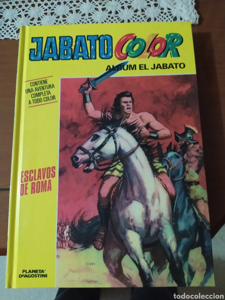 JABATO COLOR, TAPAS DURAS NUEVO (Tebeos y Comics - Tebeos Colecciones y Lotes Avanzados)