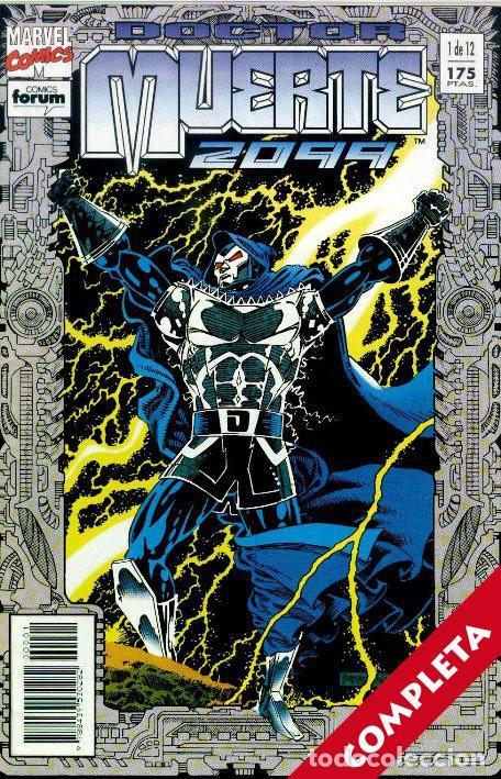 DOCTOR MUERTE 2099 VOL.1 - COLECCIÓN COMPLETA 12 NºS (Tebeos y Comics - Tebeos Colecciones y Lotes Avanzados)