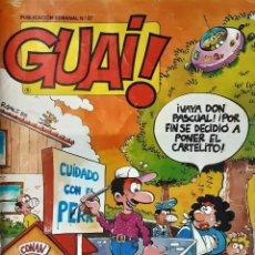 Tebeos: GUAI Nº 87 - TEBEOS SA - CON IBAÑEZ, RAF, UDERZO, SEGURA, SCHULZ, ETC. Lote 195317593