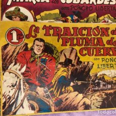 Tebeos: PONCHO LIBERTAS Nº 2-4 Y 5 SE VENDEN SUELTOS. Lote 195346947