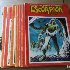 Tebeos: LOTE COMIC ESCORPIÓN, LOTE DE 12 COMICS, EDITORIAL VILMAR. Lote 195407162