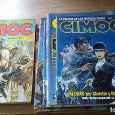 Tebeos: COMIC CIMOC LOTE CIMOC 2ª ÉPOCA DE 7 EJEMPLARES + 1 RETAPADO .. Lote 195407976