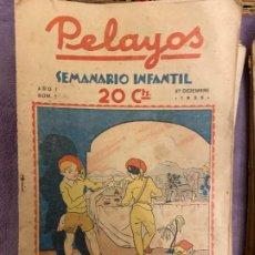 Tebeos: PELAYOS LOTE 79 TEBEOS ENTRE EL Nº 1 Y EL 100 SE VENDEN SUELTOS. Lote 195445310