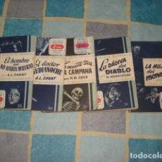 Tebeos: RELATOS DE PESADILLA 1 AL 5, 1949, MOLINO, BUEN ESTADO. COLECIÓN A.T.. Lote 195504430