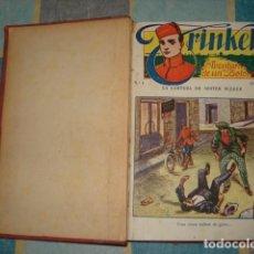 Tebeos: TRINKET, AVENTURAS DE UN BOTONES, COMPLETA, 16 NÚMEROS, BUEN ESTADO. COLECCIÓN A.T.. Lote 195506391
