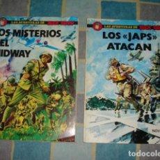 Tebeos: LAS AVENTURAS DE BUCK DANNY, 1978, COMPLETA, 2 NÚMEROS NOVARO. Lote 195506628