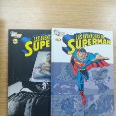 Livros de Banda Desenhada: LAS AVENTURAS DE SUPERMAN COLECCIÓN COMPLETA (2 TOMOS). Lote 195580132