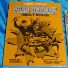 Tebeos: GENIAL EJEMPLAR EN RÚSTICA FRED HARMAN Nº 2 1982 PERFECTO -LEER ENVIOS Y VER FOTOS. Lote 195632122