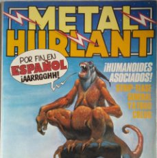 Livros de Banda Desenhada: METAL HURLANT NÚMEROS 1, 5 Y 38. Lote 195756442