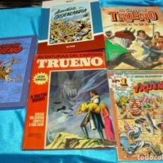 Tebeos: EL CAPITAN TRUENO LOTE EN LIQUIDACION 5 NOS.- LEER DESCRIPCION Y VER FOTOS. Lote 195847481