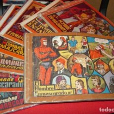 Tebeos: HOMBRE ENMASCARADO ALBUM ROJO COMPLETA !!! ORIGINALES H. AMERICANA-ORIGINAL 1956--LEER VER FOTOS. Lote 195964590