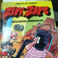 Livros de Banda Desenhada: ZIPI Y ZAPE. ENVIADOS ESPECIALES. MAGOS DEL HUMOR. ESCOBAR. EDIT. BRUGUERA. BARCELONA. Lote 196036345