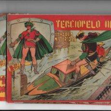 Tebeos: TERCIOPELO NEGRO AÑO 1954 Nº 3 - 4 - 6 - 7 - 8 -11 - 16 - 17 - 20 - 21 - 22 - 25 SON ORIGINALES. Lote 196089483