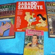 Tebeos: .SABADO SABADETE DE VAZQUEZ-RELATOS DE MUJERES.CANCIONES MODERNAS- LEER VER FOTOS- LEER. Lote 196121102