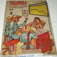 Tebeos: PEPE COLA-COLECC.COMPLETA, MATEU 1959-11 NOS + EL EXTRA VERANO 1960-LEER VER FOTOS. Lote 196271167