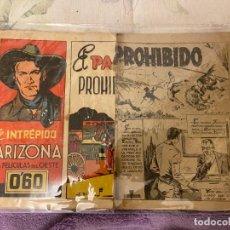BDs: EL INTREPIDO ARIZONA Nº 20 EL PASO PROHIBIDO. Lote 196561000