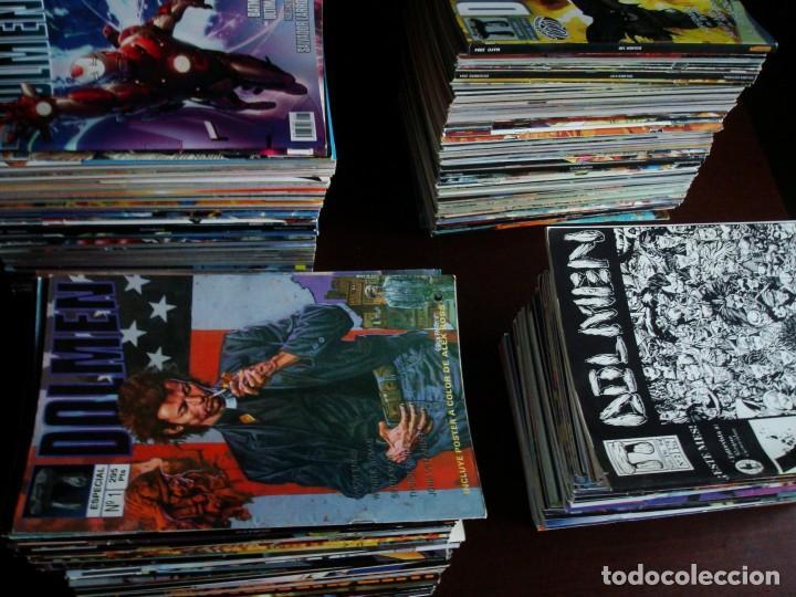 Tebeos: Gran colección Dolmen revista sobre cómics 215 números (2 al 217 + 4 extras) - Foto 2 - 196647785
