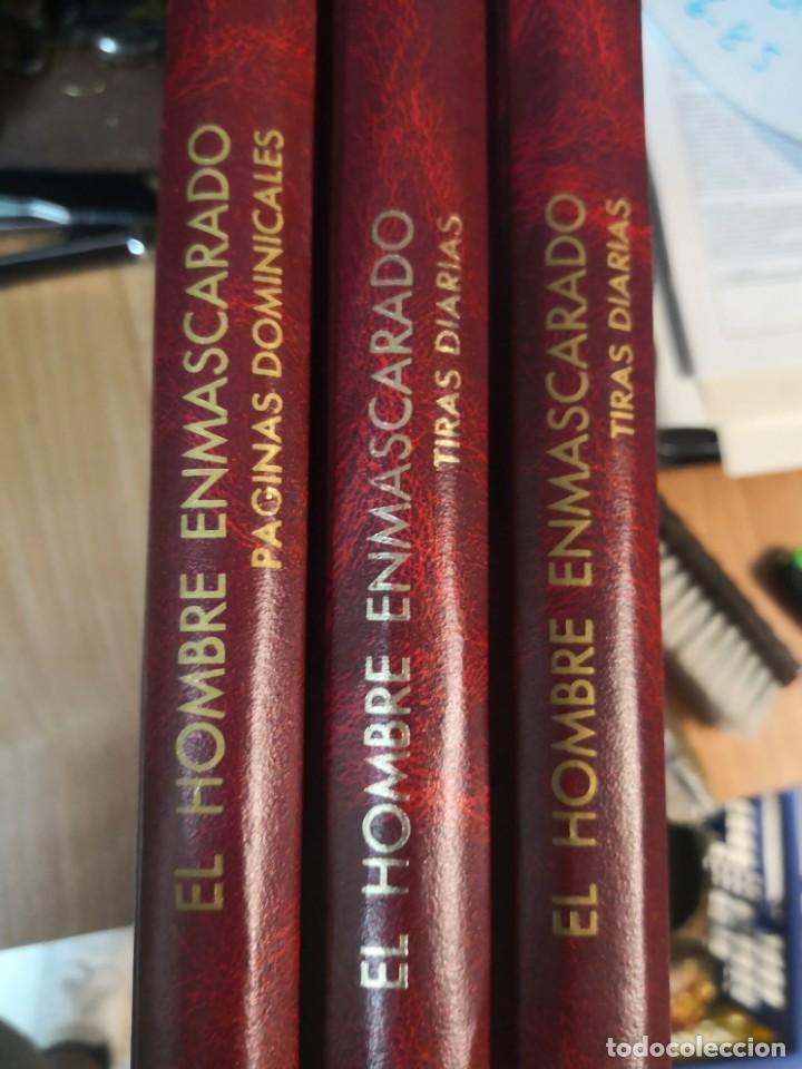 COLECCION 3 LIBROS EL HOMBRE ENMASCARADO THE PHANTOM 2 DE TIRAS DIARIAS Y 1 PÁGINAS DOMINICALES (Tebeos y Comics - Tebeos Colecciones y Lotes Avanzados)