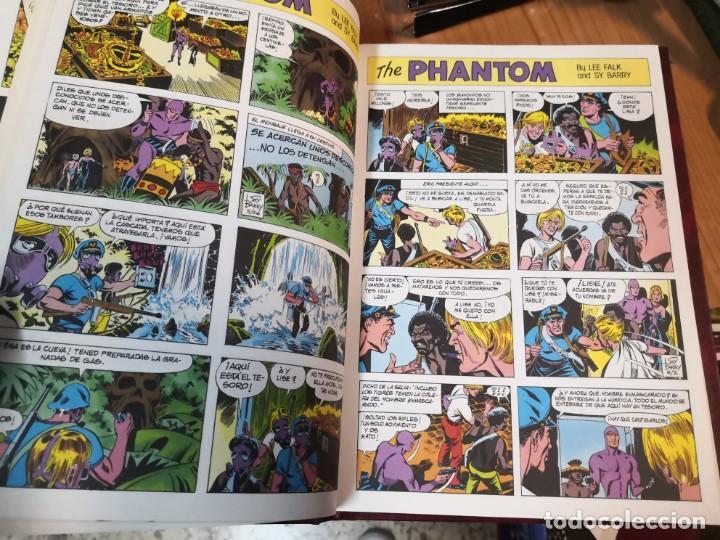 Tebeos: Coleccion 3 libros El hombre enmascarado the phantom 2 de tiras diarias y 1 páginas dominicales - Foto 2 - 196665940