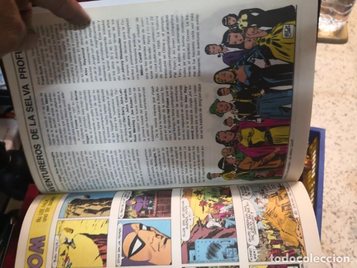 Tebeos: Coleccion 3 libros El hombre enmascarado the phantom 2 de tiras diarias y 1 páginas dominicales - Foto 3 - 196665940