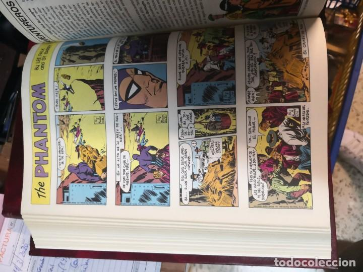 Tebeos: Coleccion 3 libros El hombre enmascarado the phantom 2 de tiras diarias y 1 páginas dominicales - Foto 5 - 196665940
