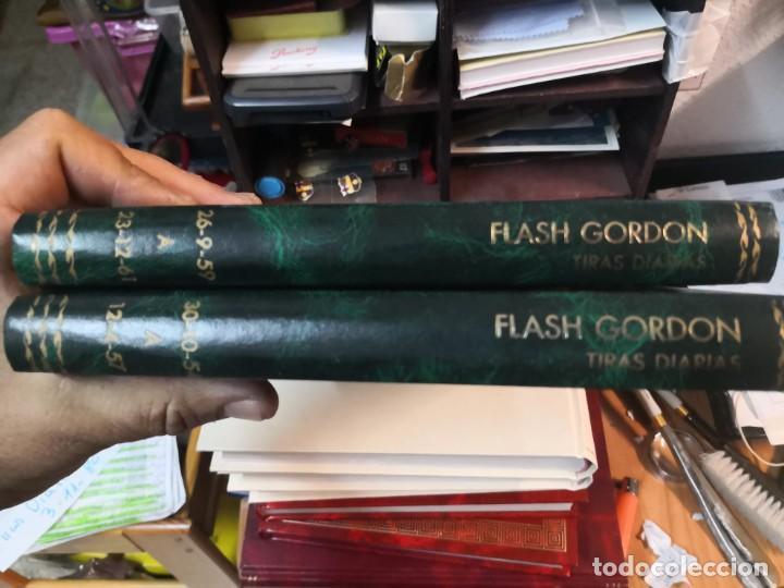 2 LIBRO FLASH GORDON(DAILY STRIPS TIRAS DIARIAS 30-10-54 A 12-4-57 Y 26-9-59 A 23-12-61 (Tebeos y Comics - Tebeos Colecciones y Lotes Avanzados)