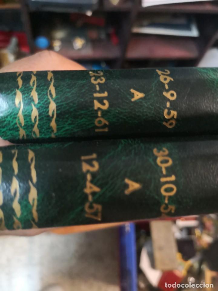 Tebeos: 2 libro flash Gordon(daily strips TIRas diarias 30-10-54 A 12-4-57 y 26-9-59 A 23-12-61 - Foto 3 - 196667488