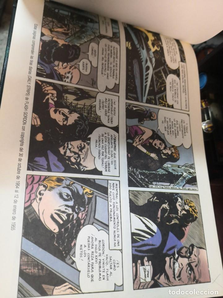 Tebeos: 2 libro flash Gordon(daily strips TIRas diarias 30-10-54 A 12-4-57 y 26-9-59 A 23-12-61 - Foto 4 - 196667488