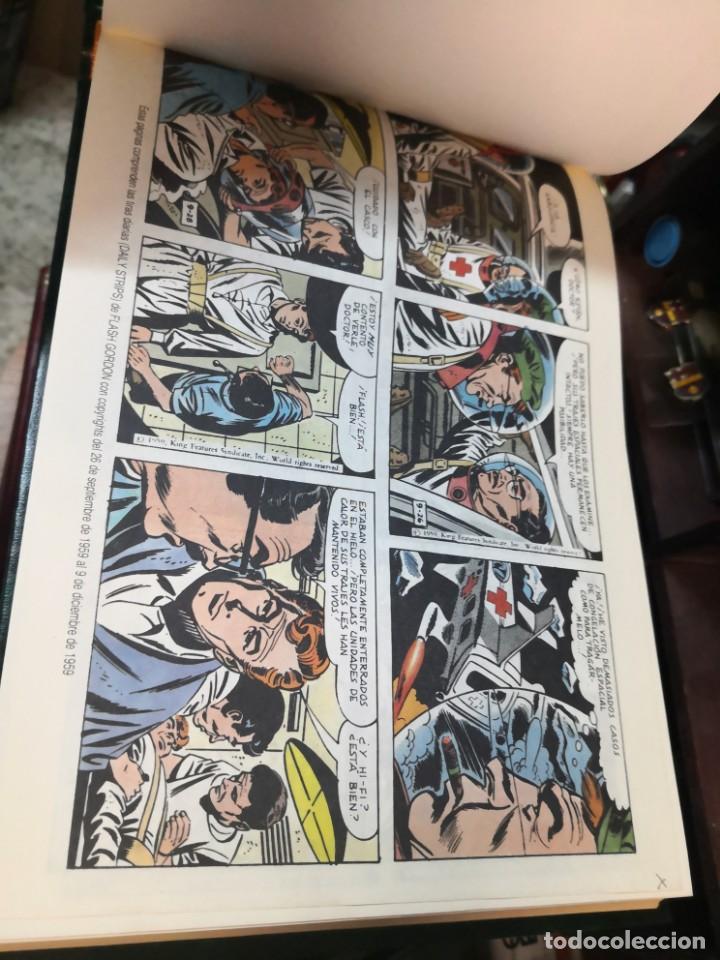 Tebeos: 2 libro flash Gordon(daily strips TIRas diarias 30-10-54 A 12-4-57 y 26-9-59 A 23-12-61 - Foto 6 - 196667488