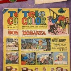 Livros de Banda Desenhada: TELECOLOR Nº 188 Y 189 SE VENDEN SUELTOS. Lote 197071328
