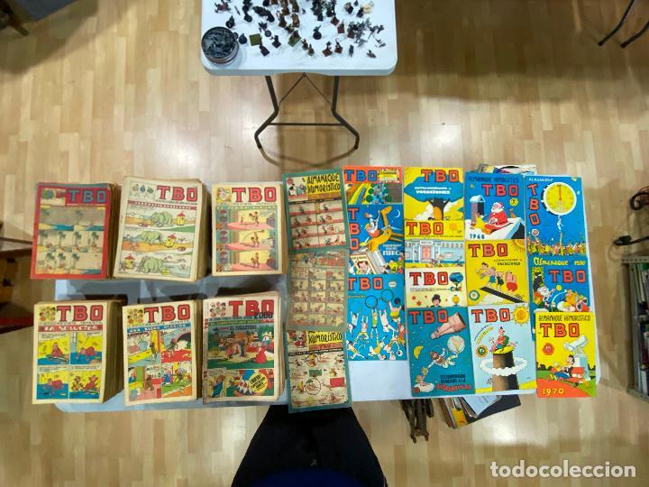 LOTE DE TBO DESDE EL 131 AL 789 + 2000 AL 2100 + ALMANAQUES Y EXTRAS (Tebeos y Comics - Tebeos Colecciones y Lotes Avanzados)