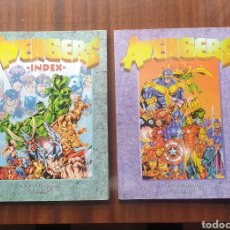 Tebeos: THE AVENGERS LOS VENGADORES INDEX VOL. 1 Y 2 - RAFA S. FERNANDEZ, 1997-1998. Lote 197202858