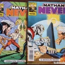 Tebeos: 3 PRIMEROS NÚMEROS DE NATHAN NEVER - 1, 2 Y 3 - VER FOTOS. Lote 197442646