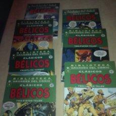 Tebeos: CLÁSICOS BELICOS,BIBLIOTECA MARVEL,COMPLETA. Lote 197582202