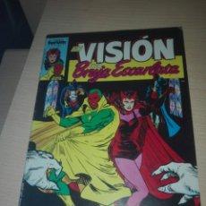 Livros de Banda Desenhada: LA VISION Y LA BRUJA ESCARLATA,COMPLETA. Lote 197662987