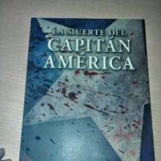 Livros de Banda Desenhada: LA MUERTE DEL CAPITÁN AMÉRICA. Lote 197688320