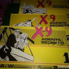Tebeos: X-9 AGENTE SECRETO 3 NÚMEROS COMPLETA - AL WILLIAMSON / ARCHIE GOODWIN. Lote 197959456