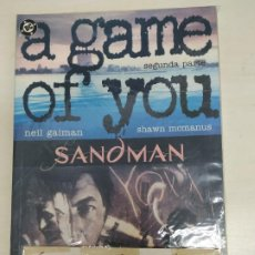 Tebeos: SANDMAN (A GAME FOR YOU), MINI SERIE DE 3 Nº EDITORIAL ZINCO. Lote 198400913