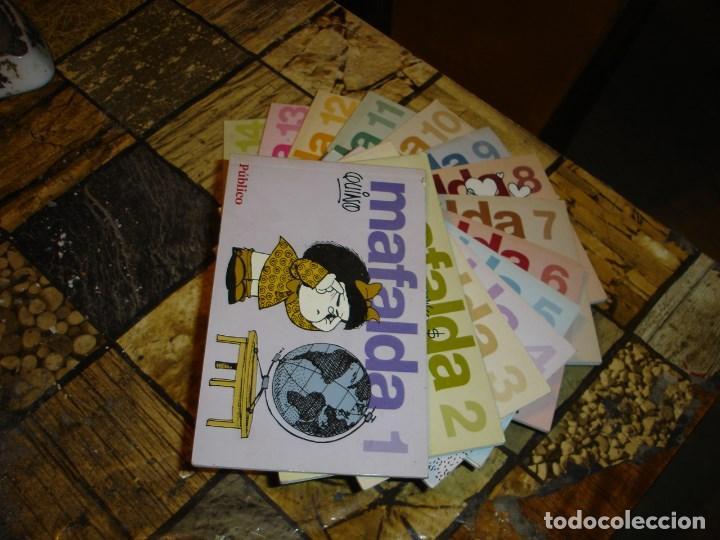 COLECCION COMPLETA DE LAS TIRAS DE MAFALDA DE QUINO VER FOTOS (Tebeos y Comics - Tebeos Colecciones y Lotes Avanzados)