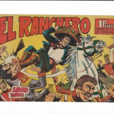 Tebeos: EL RANCHERO AÑO 1961 COLECCIÓN COMPLETA SON 32. TEBEOS SIN ABRIR NUNCA USADOS DIBUJADA POR SERCHIO . Lote 198768071