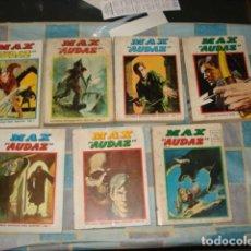 Tebeos: MAX AUDAZ, 1973, COMPLETA, VERTICE, 7 TOMOS. Lote 199066121